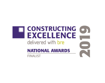 Digital Construction Excellence Finalist, 2019